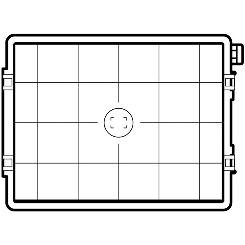 Hasselblad Focusing Screen - H4D-60 Grid