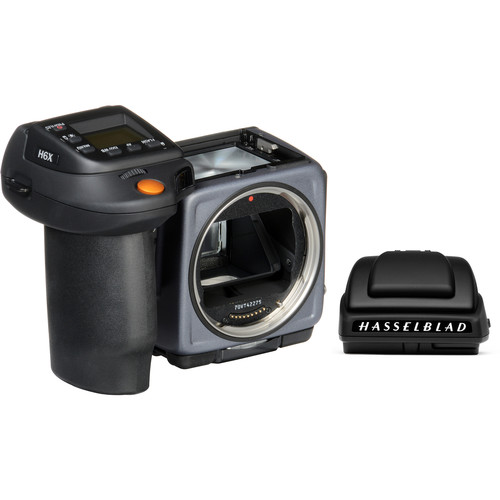 Hasselblad H6X Medium Format Camera with HV 90X-II Viewfinder