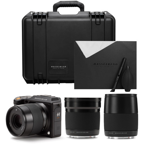 Hasselblad X1D-50c Medium Format Mirrorless Digital Camera and Lenses Field Kit (Black)