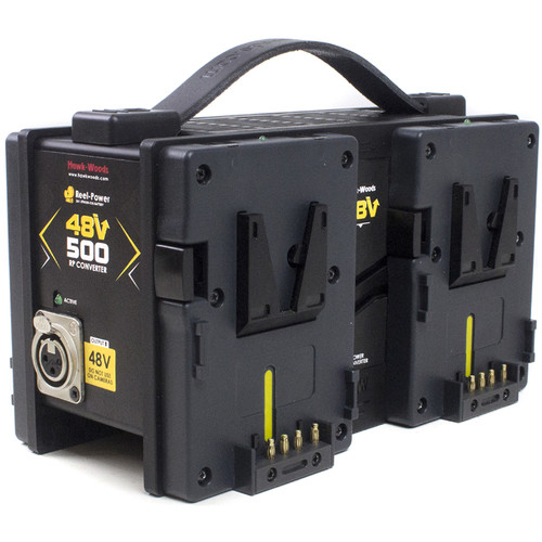 Hawk-Woods Reel Power 4-Way V-Mount Battery 48 VDC Power Adapter