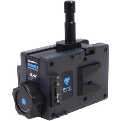 Hawk-Woods SPG-14 Light Stand Dual Battery Power Adapter (14V, V-Mount)
