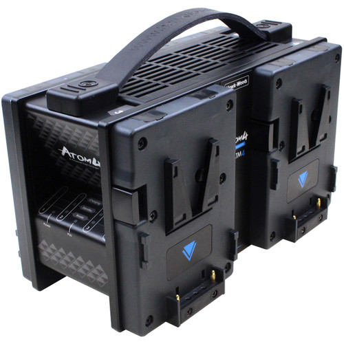 Hawk-Woods ATOM 4-Channel Fast Charger for NP1 Batteries
