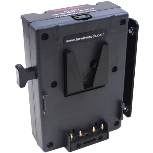 Hawk-Woods V-Lok Battery Adapter with Four D-Tap Ports for Sony F5/F55