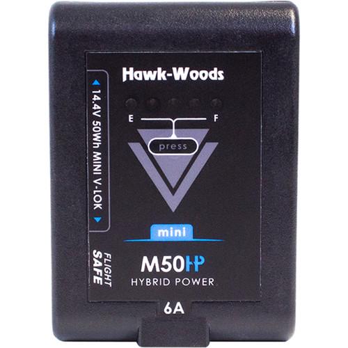 Hawk-Woods Mini V-Lok 14.4V 50Wh Li-Ion Battery