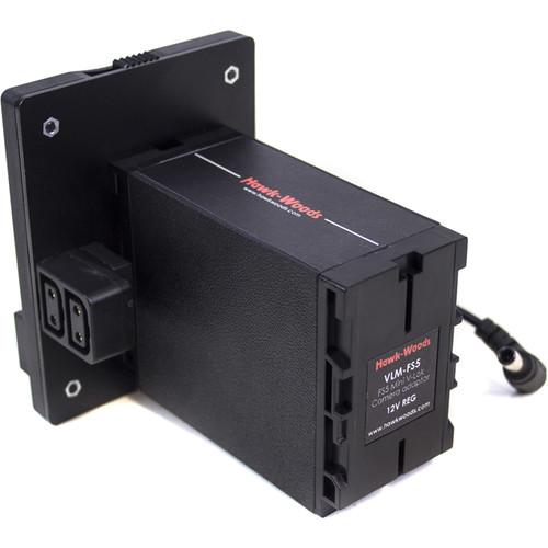 Hawk-Woods Mini V-Lok Mount for Sony FS5 4K Camera
