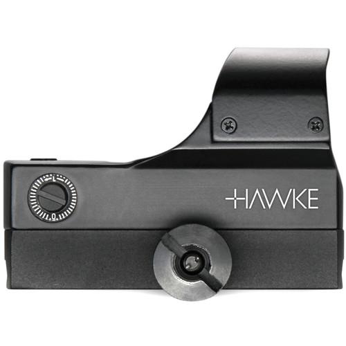 Hawke Sport Optics 1x Red Dot Wide View Reflex Sight with Manual Brightness (5 MOA Dot Reticle, Matte Black)