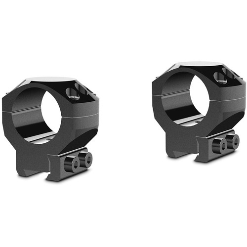 "Hawke Sport Optics 2-Piece Tactical Ring Mount for 9-11mm Rails (1"", Steel, Medium, Matte Black)"