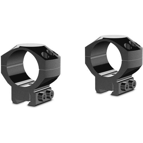 Hawke Sport Optics Two-Piece Tactical Ring Mounts (30mm, Medium, 9-11mm Dovetail, Matte Black)