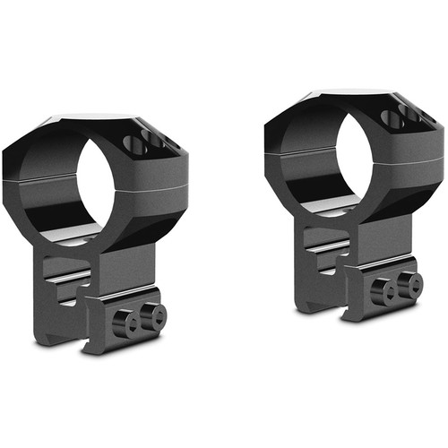 Hawke Sport Optics Two-Piece Tactical Ring Mounts (30mm, Extra-High, 9-11mm Dovetail, Matte Black)