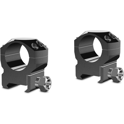 "Hawke Sport Optics Two-Piece Tactical Ring Mounts (1"", Medium, Weaver, Matte Black)"