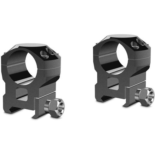 "Hawke Sport Optics Two-Piece Tactical Ring Mounts (1"", High, Weaver, Matte Black)"