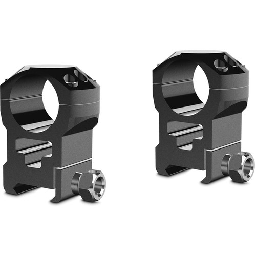"Hawke Sport Optics 2-Piece Tactical Ring Mount for Weaver Rails (1"", Steel, Extra High, Matte Black)"