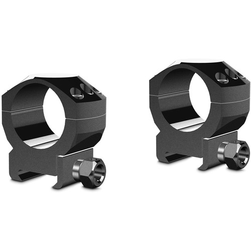 Hawke Sport Optics Two-Piece Tactical Ring Mounts (30mm, Medium, Weaver, Matte Black)