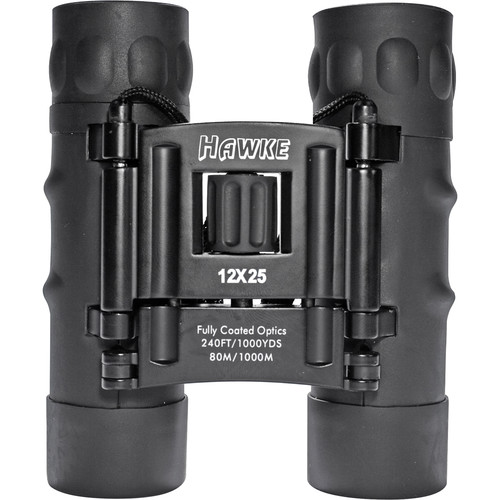 Hawke Sport Optics 12x25 Compact Binocular (Black)