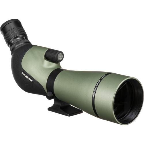 Hawke Sport Optics Nature-Trek 20-60x80 Spotting Scope (Angled Viewing)