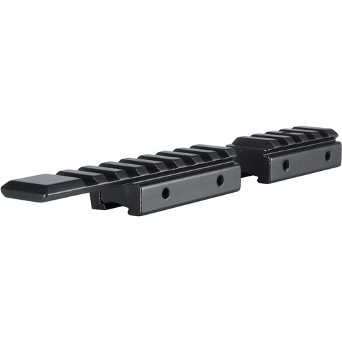 "Hawke Sport Optics 2-Piece Riflescope Rail Adapter: 3/8"" Rifle or 11mm Airgun to Weaver/Picatinny"