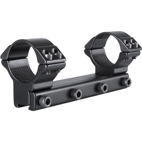 Hawke Sport Optics 1-Piece Match Mount (30mm, Aluminum, High, Matte Black)