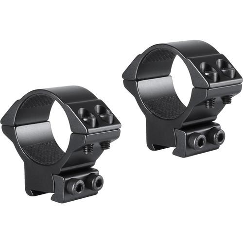 Hawke Sport Optics 2-Piece Match Mount for 9-11mm Rails (30mm, Aluminum, Medium, Matte Black)