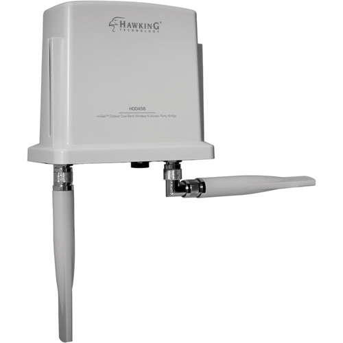 Hawking Technologies HOD45B Hi-Gain Outdoor Dual-Band Wireless-N Access Point/Bridge
