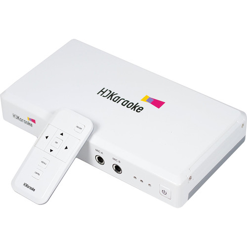 HD Karaoke HDK Box 2.0 Internet-Enabled Streaming Karaoke Player