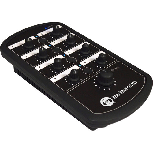 Hear Technologies Hear Back OCTO Mixer 8-Channel Personal Monitor Mixer for Hear Back OCTO Hub