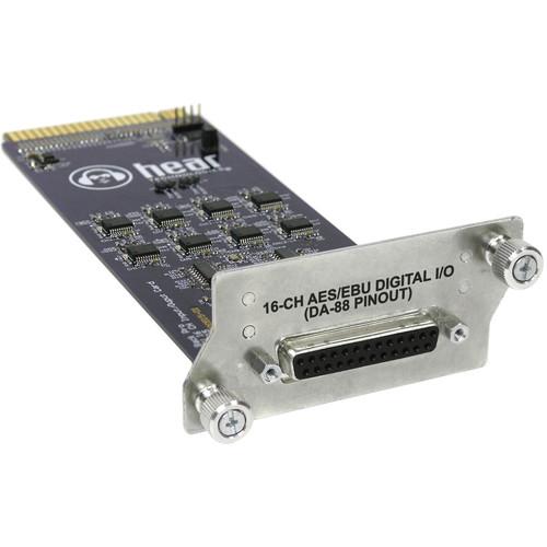 Hear Technologies AES Card 16-Channel AES/EBU I/O Card for Hear Back PRO Hub