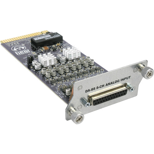 Hear Technologies Analog Card 8-Channel DB25 Analog Input Card for Hear Back PRO Hub