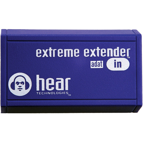 Hear Technologies Extreme Extender ADAT In ADAT Optical to HearBus Cat5e Converter