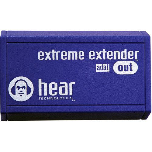 Hear Technologies Extreme Extender ADAT Out HearBus Cat5e to ADAT Optical Converter