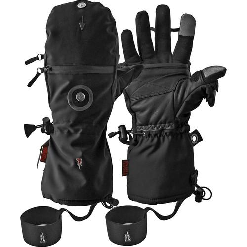The Heat Company HEAT 3 SMART Cold Weather Touchscreen Gloves (Men's Medium, Black)