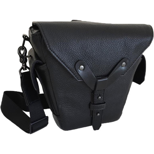 Heavy Leather NYC Lookout Camera Bag (Black)