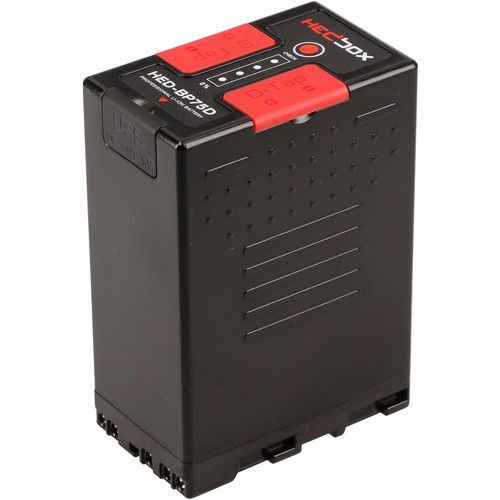 Hedbox HED-BP75D BP-U Lithium-Ion Battery Pack (14.4V, 74.88Wh)
