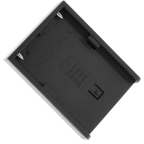 Hedbox DV Charger Plate for Sony BP-U, Hedbox BP Series Batteries