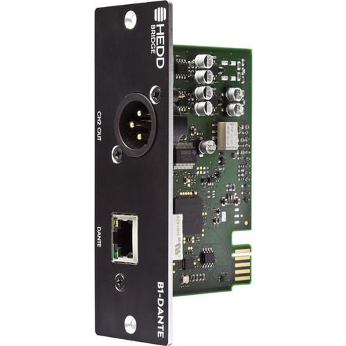 HEDD Dante 2-Channel Bridge Module for Select Studio Monitors