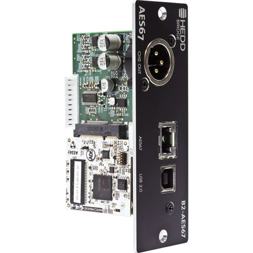 HEDD AES67 2-Channel Bridge Module for Select Studio Monitors