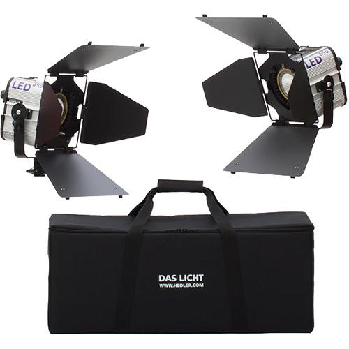 Hedler Profilux LED650 Daylight 2-Light Video Kit with Bag
