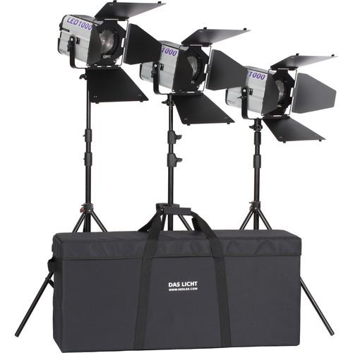 Hedler Profilux LED1000 Daylight TripleKit