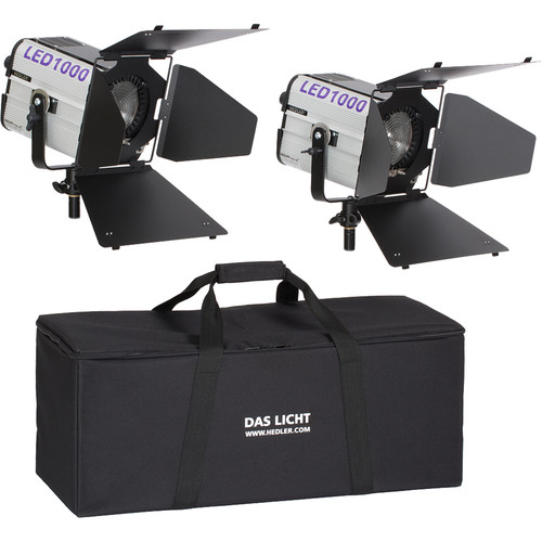 Hedler Profilux LED1000x 2-Light Soft Kit