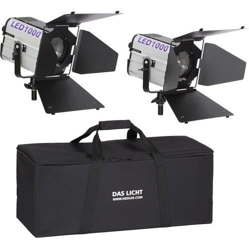 Hedler Profilux LED1000x 2-Light Soft Kit