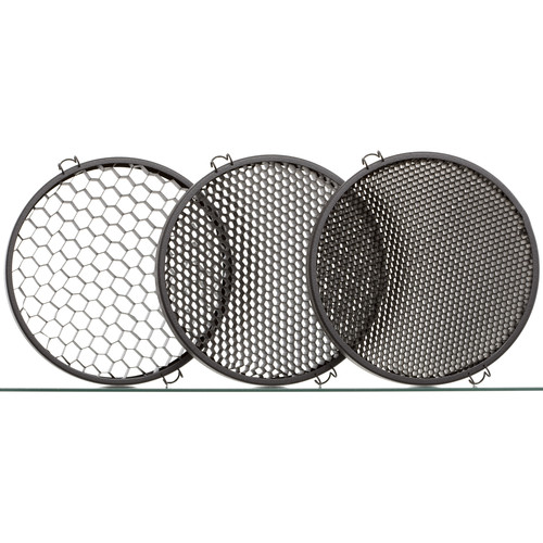 Hedler Honeycomb Grids for MaxiSpot 130 (Set of 3)