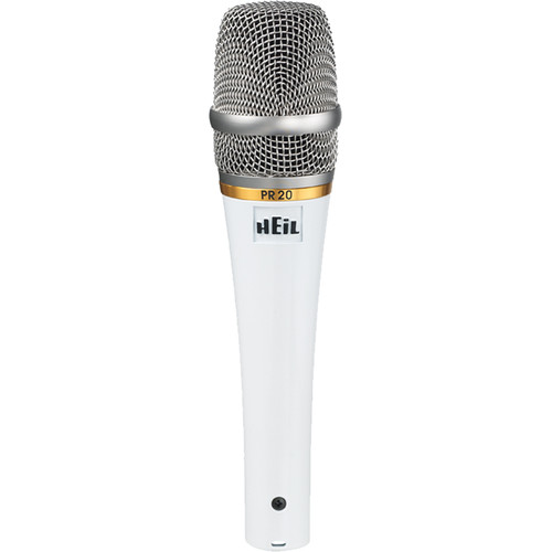 Heil Sound PR 20 Dynamic Cardioid Handheld Microphone (White Pearl)