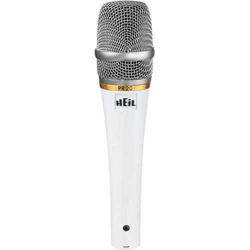 Heil Sound PR 20 Dynamic Cardioid Handheld Microphone (White Pearl)