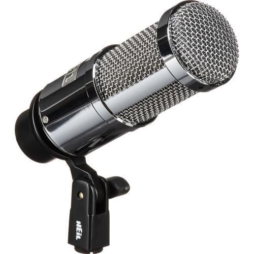 Heil Sound PR 40 Dynamic Cardioid Front-Address Studio Microphone (Chrome)