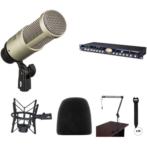 Heil Sound PR 40 Microphone & PreSonus Studio Preamp Broadcaster Kit
