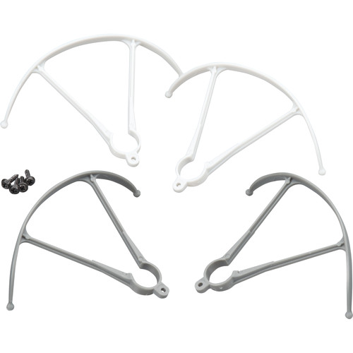 Heli Max Blade Guards for 1Si Quadcopter (4-Pack)