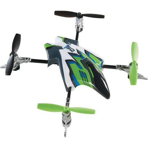 Heli Max Canopy Set with 4 Props for 1SQ and 1SQ V-Cam Quadcopters (Green)