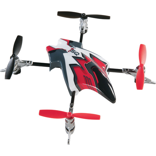 Heli Max Canopy Set with 4 Props for 1SQ and 1SQ V-Cam Quadcopters (Red)
