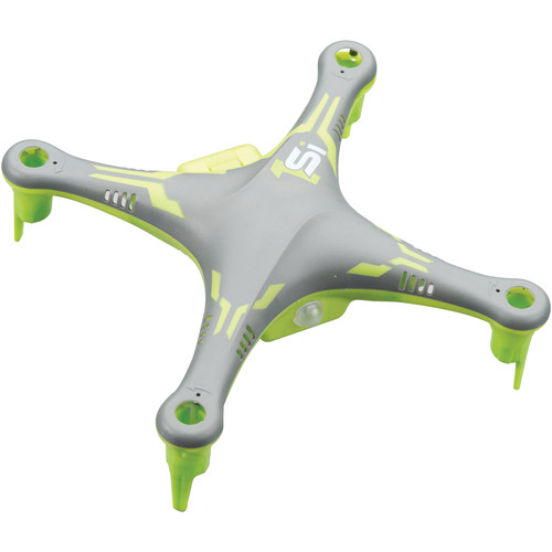 Heli Max Body and Frame for 1Si Quadcopter (Gray)