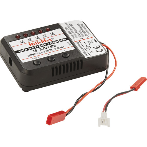 Heli Max 1S LiPo Balancing Charger for 230Si Quadcopter