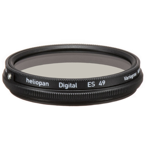 Heliopan 49mm Variable Gray ND Filter